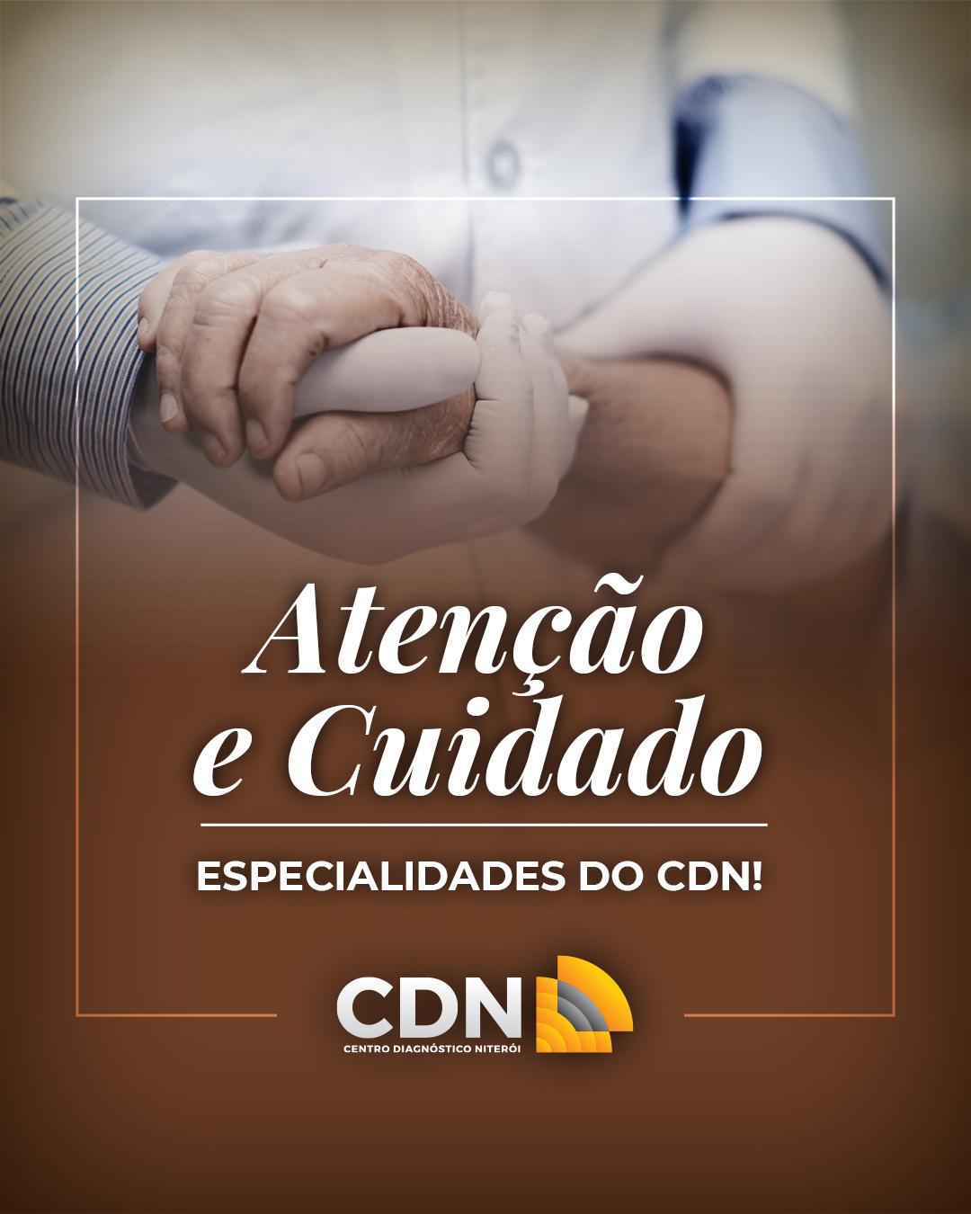 Atenção e Cuidado: especialidades do CDN